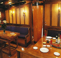 Tall Ship Soren Larsen Interior