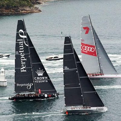 Watch Sydney to Hobart Race Start