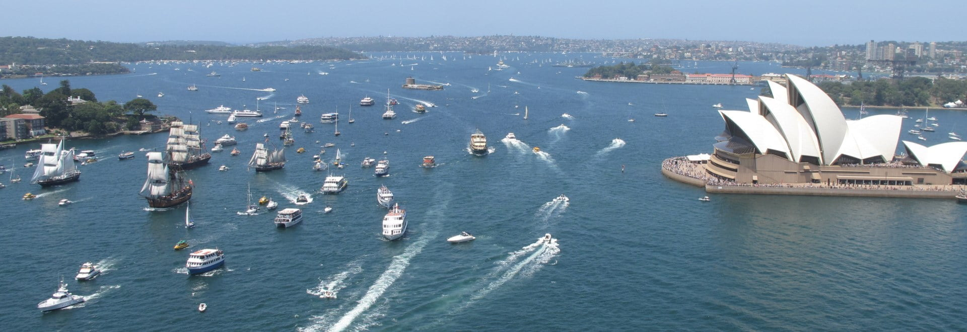 Australia Day Tall Ships Cruises