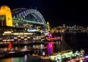 Sydney Vivid Harbour Cruise