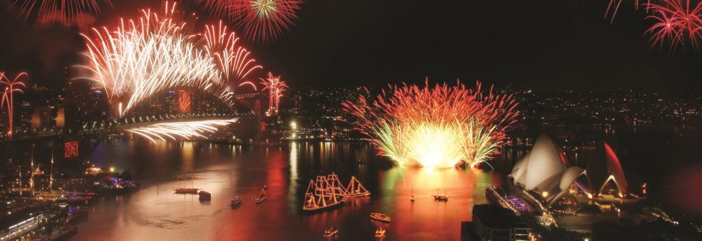The Best Place To Celebrate New Year's Eve In Sydney Is On The Harbour! | Sydney Harbour Tall Ships