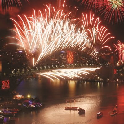 Sydney Nye Fireworks New Years Eve Party Wangi Queen Ferry