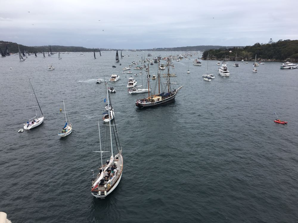SYDNEY TO HOBART RACE START EXPERIENCE